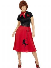 1950's Poodle Dress Costume